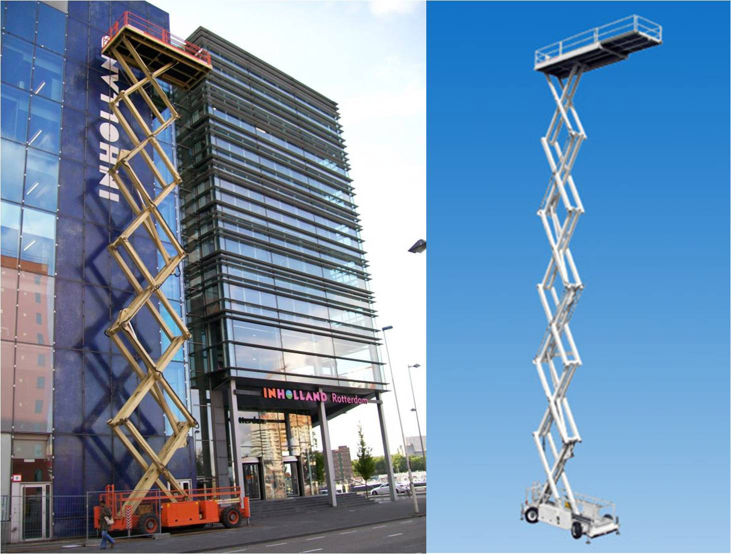 Tallest Aerial Lift : Holland lift megastar hl