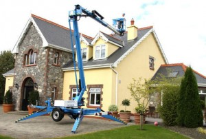 Niftylift 170 trailer mounted boom lift