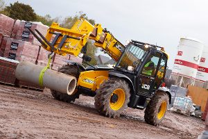 Telescopic Forklifts from Hire Safe Solutions
