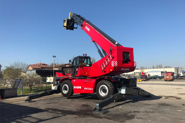 Telehandler Forklifts from Hire Safe Solutions